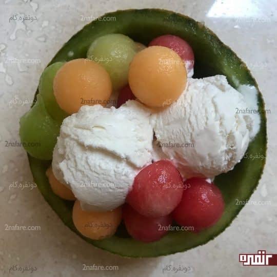 بستنی مخصوص پذیرایی