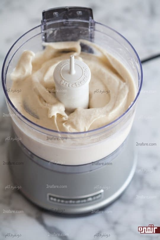 بستنی موزی آماده شده