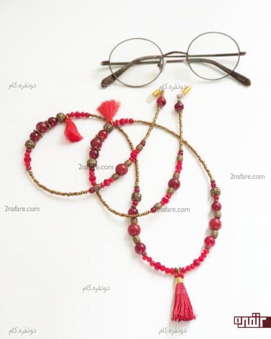 بند عینک رنگی