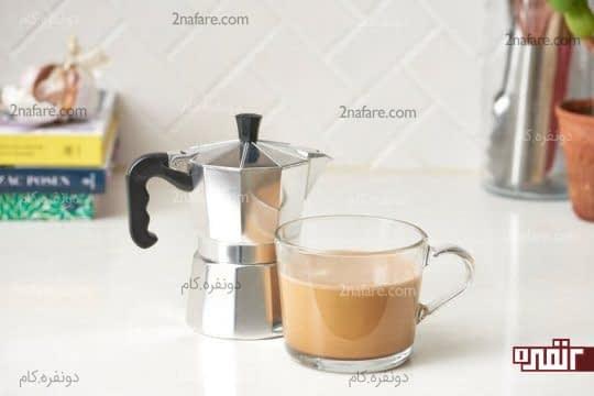 بهترین روش برای تمیز کردن قهوه جوش موکا