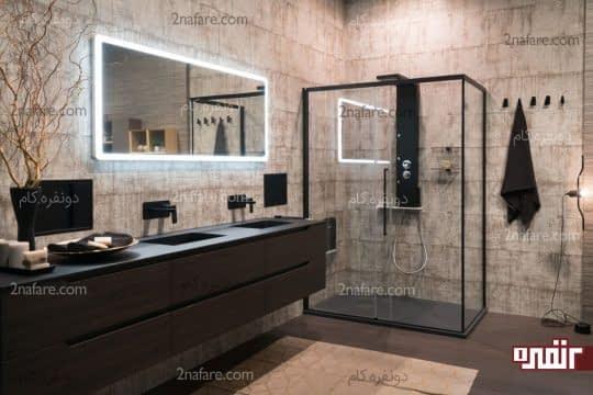 تبدیل دیوارهای حمام به یک نقطه ی کانونی در طراحی
