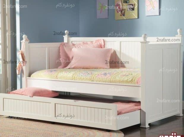 تخت خواب های کشویی انتخابی متفاوت و زیبا