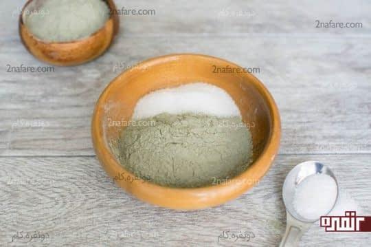 ترکیب خاک رس و نمک