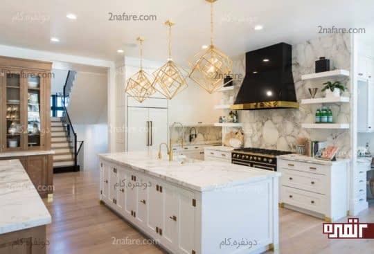 تغییر دکوراسیون آشپزخانه سفید