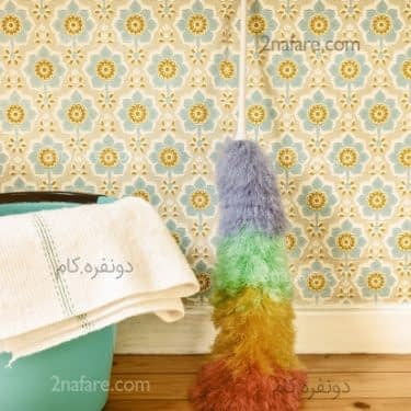 تمیز کردن انواع دیوارها در منزل