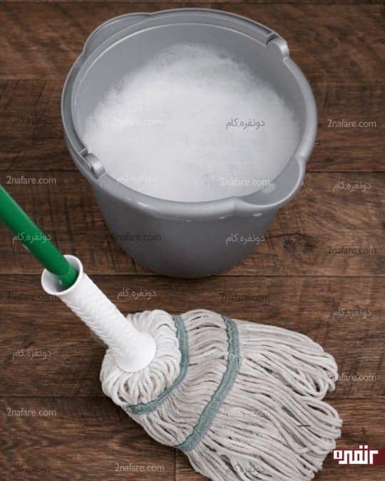 تمیز کردن کفپوش سرامیکی