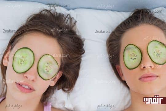 تیرگی دور چشم را درمان می کند