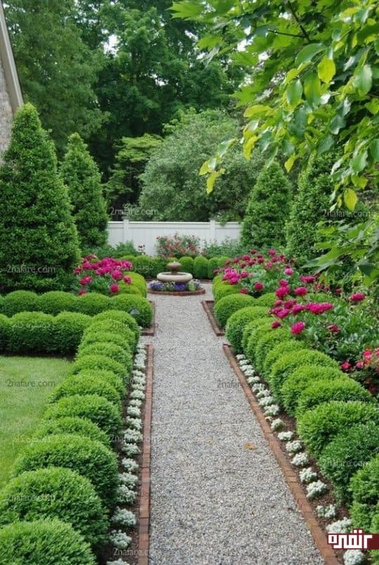 جذب انرژی مثبت در خانه با تمیز و زیبا نگهداشتن باغچه