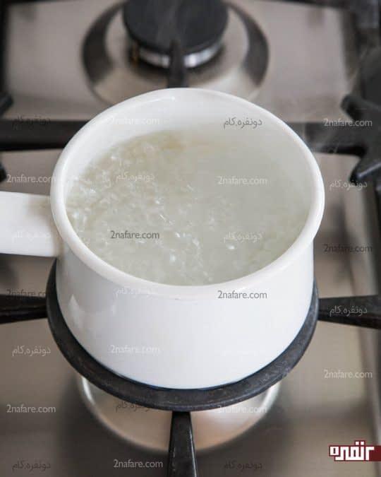 جوش آمدن آب