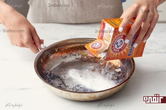 درست کردن خمیر جوش شیرین