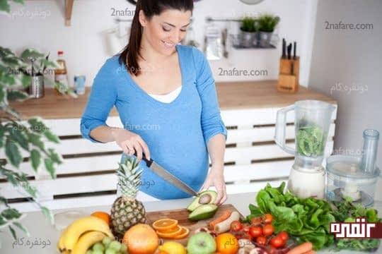 در انتخاب غذاهای دوران بارداری دقت کنید