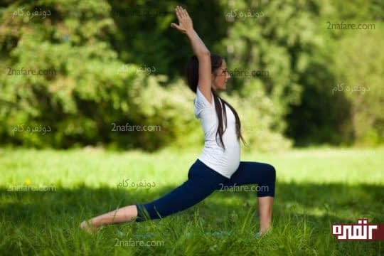 در زمان بارداری ورزش روزانه توصیه میشه
