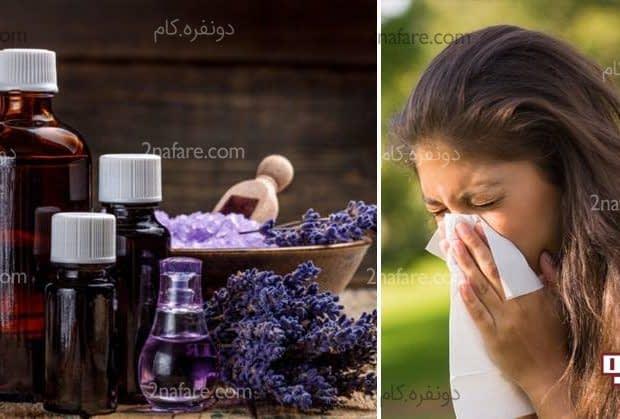 روغن های گیاهی برای آلرژی - درمان طبیعی برای پاک کردن سینوس ها