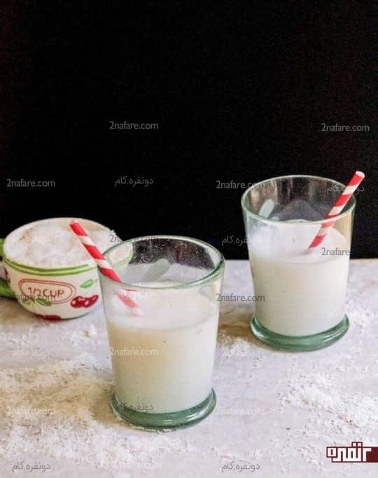 شیرنارگیل خانگی