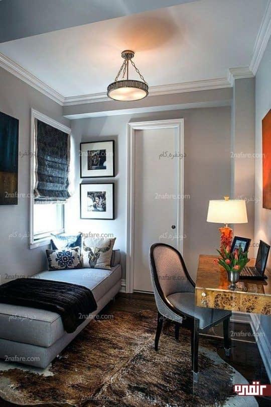صندلی و مبل راحت برای خوابیدن در اتاق خواب مربوط به مهمان