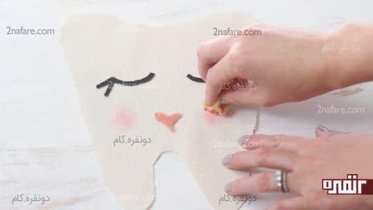 صورتی کردن لپ ها