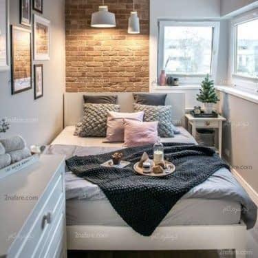 طراحی اتاق مهمان راحت و دنج در فضای کوچک خانه