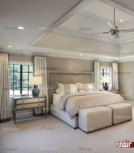 طراحی دکور اتاق خواب طبق علم فنگ شویی