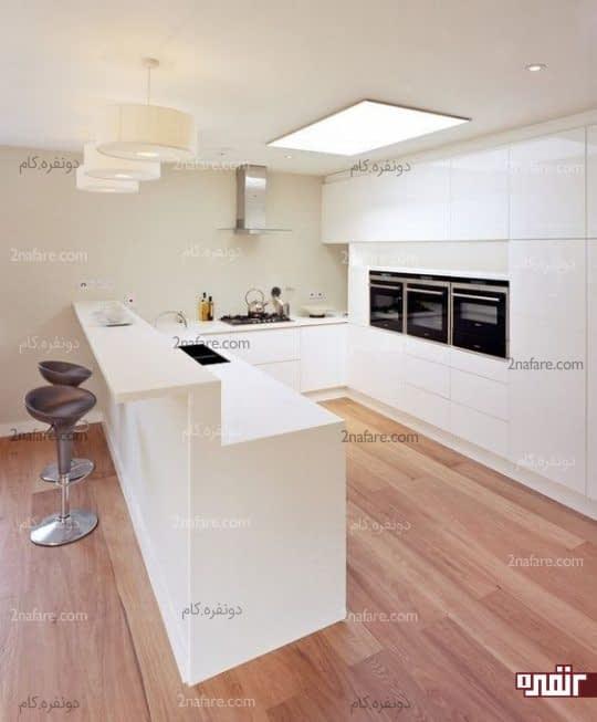 طراحی میز صبحانه خوری در آشپزخانه های مدرن