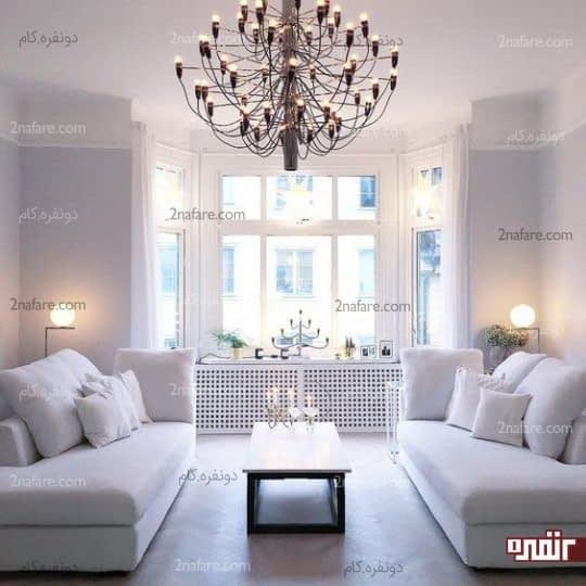 فنگ شویی و جذب انرژی مثبت در اتاق نشیمن