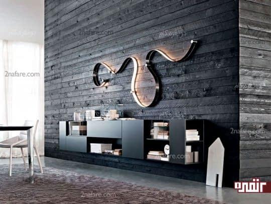 قفسه های متفاوت و خاص برای تزیین دیوار