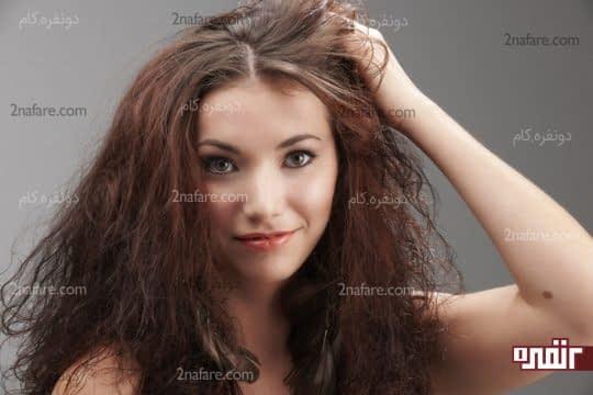 میشه با استفاده از روغن آرگان موها رو صاف کرد