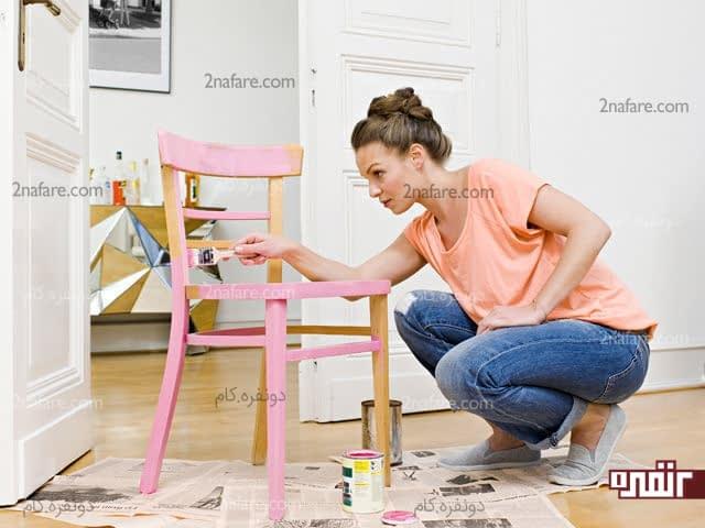 نکته های مهم و کاربردی در نقاشی و رنگ آمیزی مبلمان