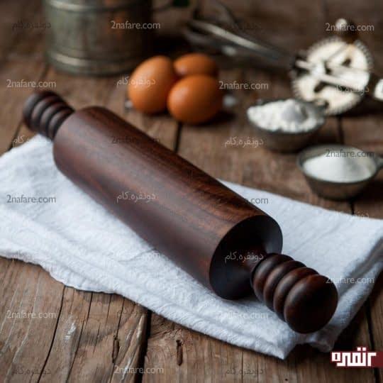 چطور وردنه چوبی رو تمیز کنیم؟