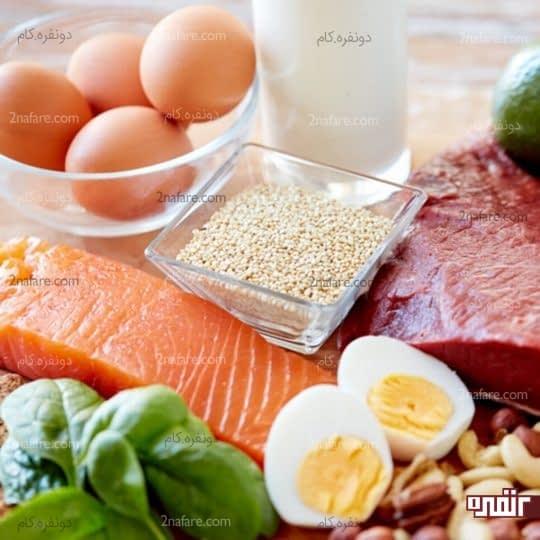 کمبود پروتئین