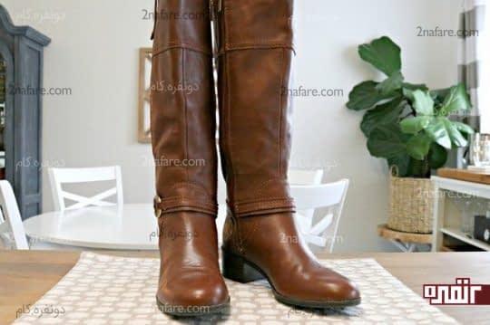 تمیز کردن کفش و چکمه های چرمی با استفاده از مواد طبیعی