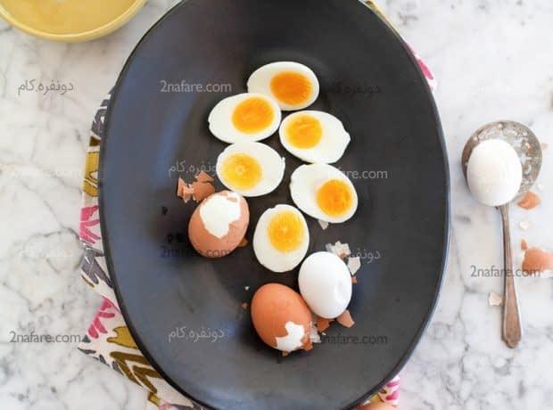 بهترین روش برای تهیه تخم مرغ آب پز