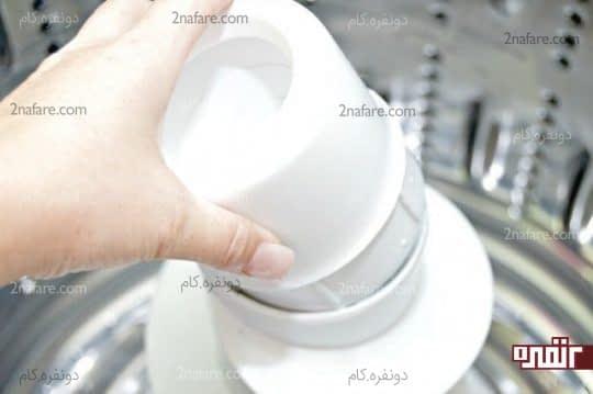 شستن محفظه های لباسشویی