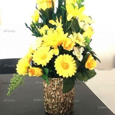 آموزش ساخت گلدان با لیوان و چسب حرارتی