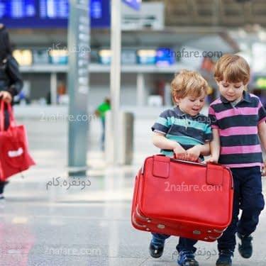 آنچه برای سفر با کودکان باید بدانید