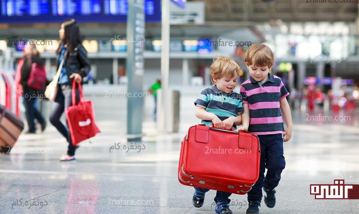 توصیه های مفید برای مسافرت با کودکان