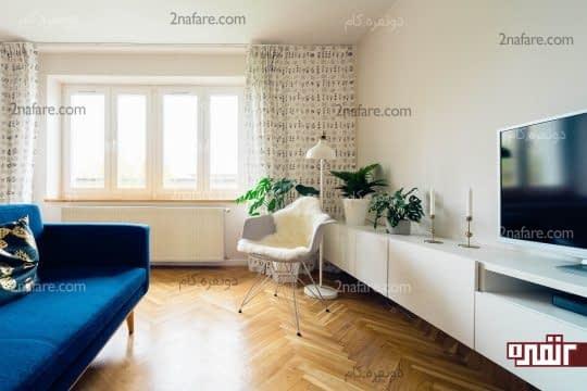 از نور طبیعی و وسایل روشنایی برای نورپردازی خانه استفاده کنید