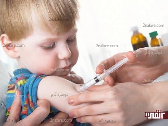 از واکسیناسیون کودک قبل از سفر اجتناب کنید