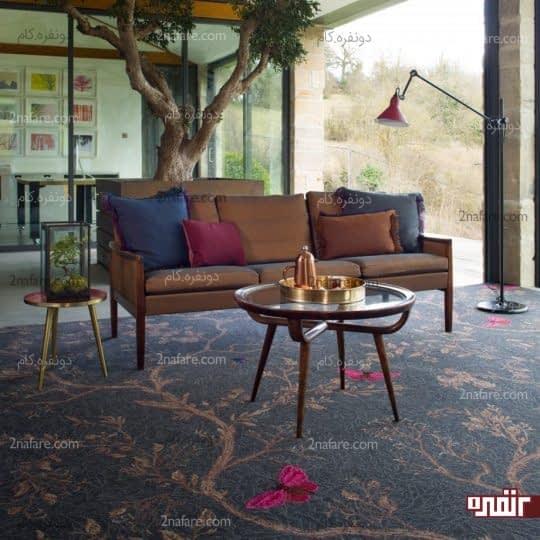 استفاده از فرش برای پوشش کف