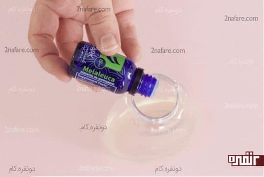 اضافه کردن روغن های آنتی باکتریال