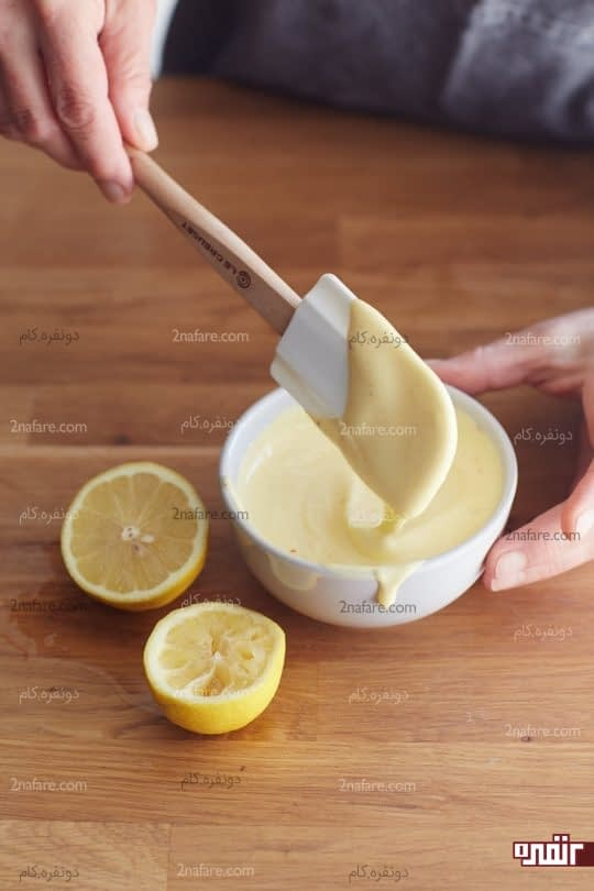 اضافه کردن لیمو ترش