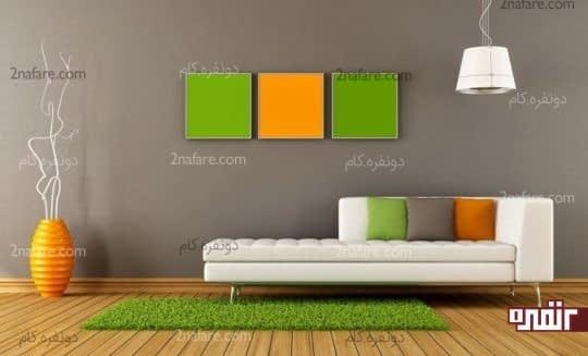 انتخاب و ترکیب رنگ ها در دکوراسیون داخلی