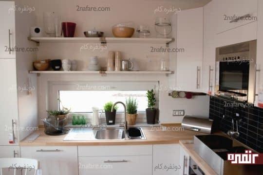 ایجاد فضای اضافی برای نگهداری از لوازم آشپزخانه