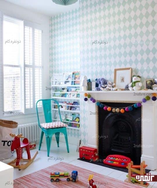 ایده های جذاب برای تزیین اتاق کودکان