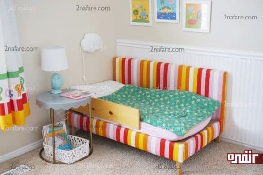 ایده ها و روش های آسان برای تزیین دکور اتاق کودکان