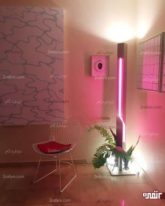 بکارگیری نورپردازی نئون در دکوراسیون داخلی