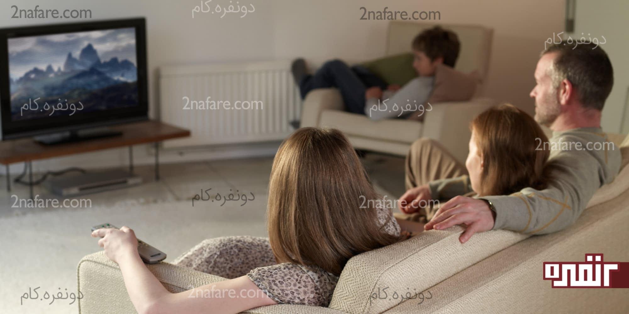 تأثیرات منفی تماشای تلویزیون برای بزرگسالان و کودکان