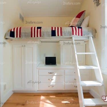 ترفندهای خلاقانه برای طراحی فضای تخت خواب در اتاق خوابهای کوچک