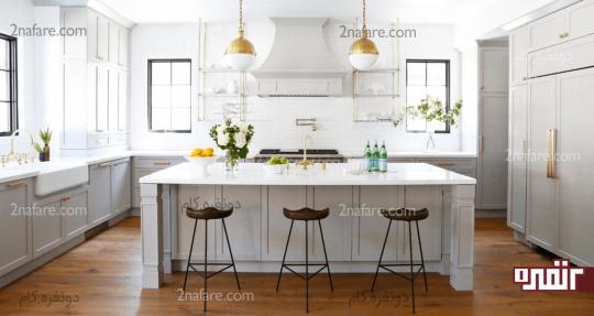 تغییر دکوراسیون آشپزخانه را در اولویت قرار دهید