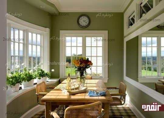 تغییر رنگ دیوارها در دکوراسیون داخلی