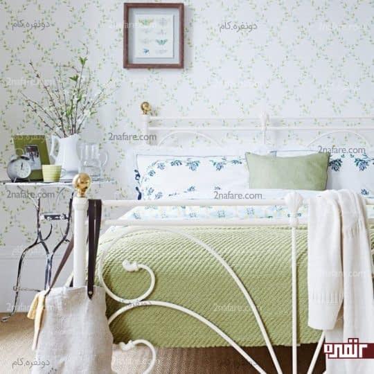 تم تصویری زیبا و فانتزی در اتاق خوابهای کوچک